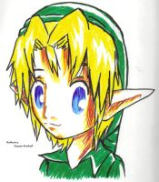 Chibi Young Link - TLOZ by Kith-Cath