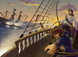 Pirates of the Black Tide by NoSafeHaven