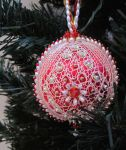 No. 18 Christmas Ornament by DoiliesbyDiane