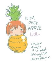 kim pineapple by 021