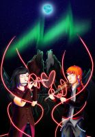 Full Moon Sonata by Lazy-a-Ile