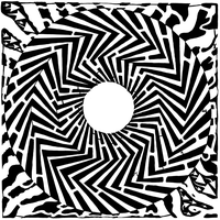 Psychedelic Swirly Maze by ink-blot-mazes