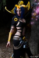 LeBlanc Cosplay. League of Legends. by Morganita86