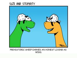 Sheep by Size-And-Stupidity