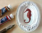 Sea Horse miniature by VKart