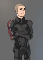 Shepard by s3v4ns
