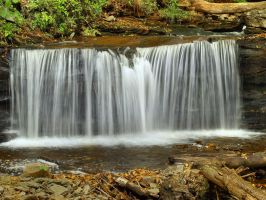 Ricketts Glen State Park 74 by Dracoart-Stock