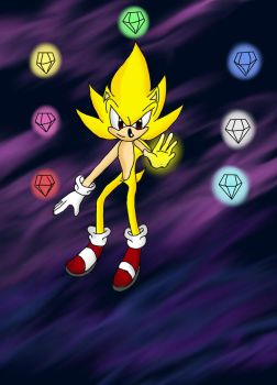 Super Sonic by MikaSoul1996