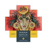 Mama Quilla Wine Label by Cailey5586