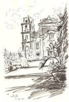 sketchcrawl - cathedral by AndreaSchepisi
