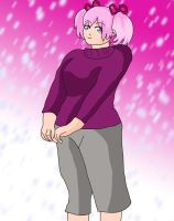 Winter Fashion: Madoka by Chibifangirl01