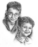 Benjamin and Noah 2008 by TrustySidekick