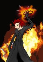 "kh- ""The name's Axel"" by Niou"