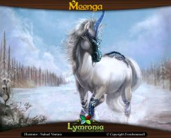 Moonga - Plains Unicorn by moonga