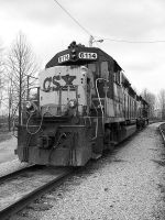 CSX GP40-2 by LDLAWRENCE