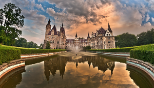A wonderful castle - Poland by PatiMakowska