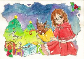 Christmas card by GranitaGLn