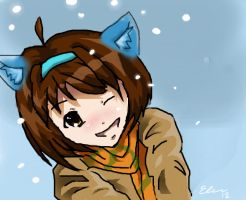 Haruhi by SunsetDragonfly