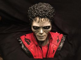 Michael Jackson Thriller bust by 001-FAB