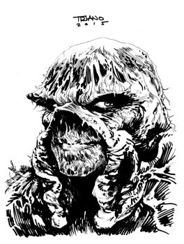 SWAMP THING COMMISSION by MattTriano