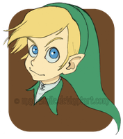 "Link ""cartoon"" - Legend of Zelda fanart by mad-smile"