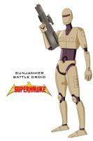 Sunjammer Cyborg - refined by Dangerman-1973