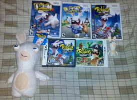 My (small) Rabbids collection by Edness-Madness