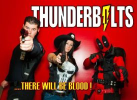 Thunderbolts Team-up! by Cadmus130