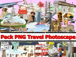 Pack PNG  Travel Photoscape by Antoannaloro