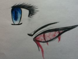 Eye coloring doodles by goicesong1
