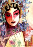 The Painted Face by Nishiio