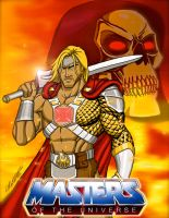 King He-man: Lord of Grayskull by EvanLygeros