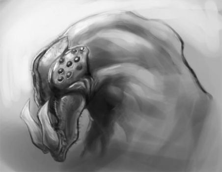 Spider head creature thingy by artistic-diarrhea