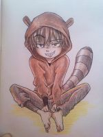 Rigby (Regular Show) by PsicoDelicia