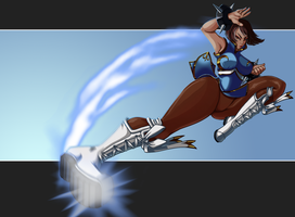 Older Chun Li by JamFlavored