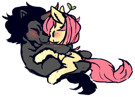 Nuzzles by fluttershysocks