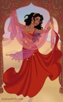 Bollywood Gypsy Esmeralda by AnneMarie1986