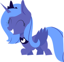Linesless Luna by pippastrelle13
