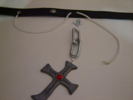 Three-quarters-finished Rosary by Flarey