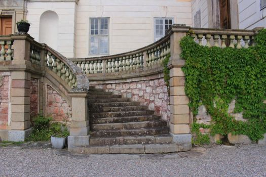 Stock img Castle Stairs by Euselia