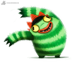 Day 781. YOGABBAGABBABAB by Cryptid-Creations