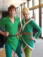Peter Pan and Tinkerbell by Jake-Peter-Pan