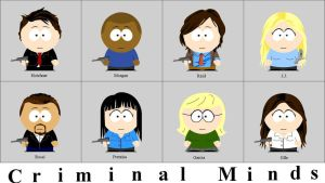 Criminal Minds + South Park 2 by animemoon7