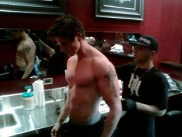 Shirtless Zak Bagans by CaliforniaHunt24