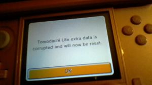 Tomodachi Life data corrupt??? by 235Hannah