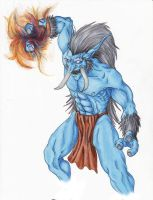 WoW - Troll mage by Sametti