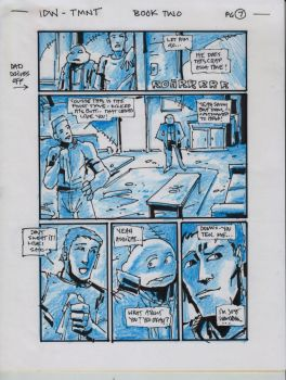 IDW TMNT Book Two Pg 7 by Kevineastman