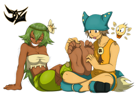Wakfu Tickling by SoleSketch