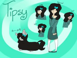 Tipsy Carson by psychedelic-weirdo