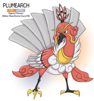 Pokemon Albion Region: #006 Plumearch by sweetkimothy